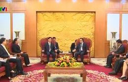 Đoàn đại biểu cán bộ Đảng Cộng sản Trung Quốc sang thăm Việt Nam