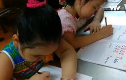 """Nở rộ các """"lò"""" dạy chữ trước cho học sinh vào lớp 1"""