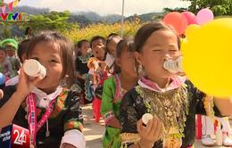 Hành trình gian nan của chương trình Sữa học đường