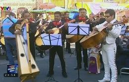 Lễ Thánh Cecilia của các nghệ sĩ âm nhạc đường phố Mexico