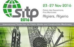 Việt Nam dự Hội chợ quốc tế SITP 2016 tại Algeria