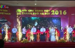 Khai mạc hội chợ hàng Việt Nam TP Hà Nội 2016