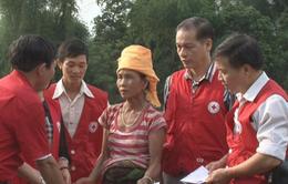 Hội Chữ thập đỏ Việt Nam hỗ trợ Yên Bái khắc phục hậu quả bão số 3