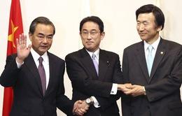 """Vụ phóng tên lửa của Triều Tiên """"phủ bóng"""" Hội nghị Ngoại trưởng Nhật - Trung - Hàn"""