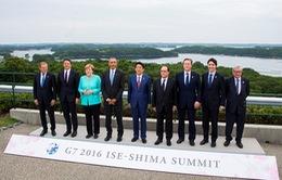 Hội nghị Thượng đỉnh G7 tập trung giải quyết rủi ro của kinh tế thế giới