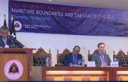 Hội thảo quốc tế Dili về biên giới hàng hải và Luật biển