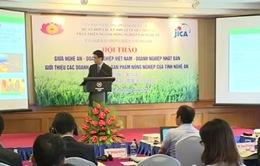 Xúc tiến hợp tác nông nghiệp Việt Nam và Nhật Bản