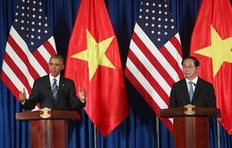 Video Tổng thống Mỹ tuyên bố dỡ bỏ hoàn toàn lệnh cấm vận vũ khí đối với Việt Nam