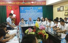 Họp kỹ thuật trước giải bóng đá nữ VĐQG - Cúp Thái Sơn Bắc 2016