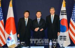 Hàn Quốc - Mỹ - Nhật Bản họp bàn đối phó vụ Triều Tiên thử bom H