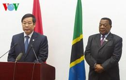 Họp báo công bố Thông cáo chung Việt Nam - Tanzania