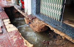 Xuất hiện hố sâu ở Bình Định