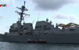 Hải quân Mỹ, Campuchia tập trận chung