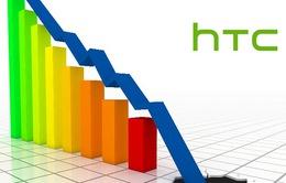 Doanh thu của HTC năm 2015 giảm mạnh