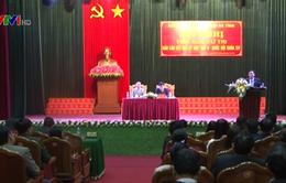 Phó Thủ tướng Vương Đình Huệ tiếp xúc cử tri Hà Tĩnh