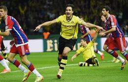 Trung vệ thép Hummels sẵn sàng về lại Bayern