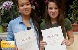 Vinh danh hai chị em gốc Việt tại Hungary