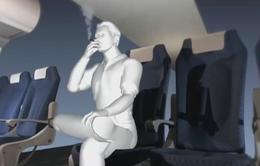 Một hành khách bị phạt 4 triệu đồng vì hút thuốc trên máy bay