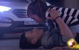 Khán giả nóng lòng được xem nụ hôn của Huy (Hồng Đăng) và Lam (Lã Thanh Huyền)