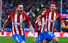 Atletico Madrid 1-0 Las Palmas: Bám sát top 4