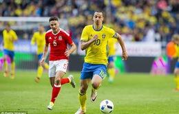 VIDEO: Ibrahimovic ghi dấu ấn, Thuỵ Điển thắng đậm xứ Wales