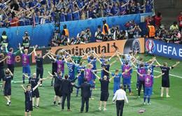 ĐT Iceland gây ấn tượng với màn ăn mừng khí thế