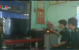 Bình Định: Tuyên truyền bầu cử cho ngư dân qua bộ đàm