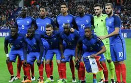 Chuyển động EURO 2016 ngày 13/5: Pháp, Bỉ trình làng đội hình khủng