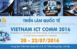 Gần 300 gian hàng giới thiệu sản phẩm tại Vietnam ICT Comm 2016