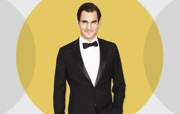 Roger Federer được bình chọn là ngôi sao thể thao phong cách nhất năm 2016
