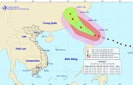 Siêu bão cấp 17 vào Đông Bắc Biển Đông