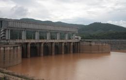Gia Lai: Mực nước hồ thủy điện Ia Ly xuống thấp kỷ lục
