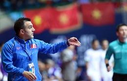 HLV Formoso: ĐT futsal Việt Nam đánh mất mình sau khi thắng Nhật Bản