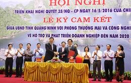 Quảng Ninh triển khai Nghị quyết 35 về hỗ trợ phát triển doanh nghiệp