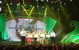 VTV đạt giải A báo chí về tài nguyên và môi trường
