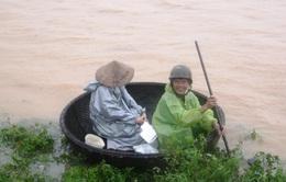 Vùng ven Đà Nẵng bất ngờ ngập sâu