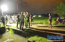 Phát hiện thợ hồ rơi xuống cống tử vong tại Quảng Ngãi