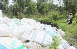 Đồng Nai: Phát hiện hàng trăm tấn bùn thải độc hại tại rừng cao su