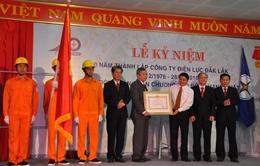 Điện lực Đăk Lăk đón nhận Huân chương Lao động hạng Nhất