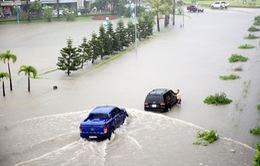 Hệ thống thoát nước ở đô thị đa phần quá tải