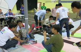 Robocon Việt Nam 2016: Các đội phía Bắc luyện tập thử sân