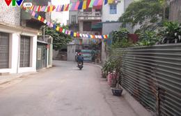 Hà Nội: Đoạn đường ngập rác thải ở phường Mai Động đã được dọn sạch