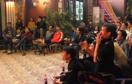 Bán kết AFF Cup Việt Nam - Indonesia: Các cửa hàng cafe như Mỹ Đình thu nhỏ