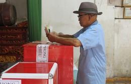 Cử tri Tĩnh Gia, Thanh Hóa háo hức tham gia ngày hội bầu cử