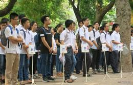 Hàng nghìn thí sinh hồi hộp trước kỳ thi lớp 10 THPT 2016