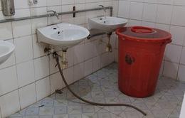 Hà Nội: Nhà vệ sinh trường tiểu học xuống cấp nghiêm trọng