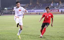Bỏ lỡ vô vàn cơ hội, U19 Việt Nam bị Singapore cầm hòa ngày mở màn