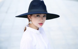 Minh Hằng - Nữ ca sĩ duy nhất trình diễn tại chung kết Project Runway Vietnam mùa 3