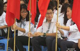 Học sinh cả nước tưng bừng khai giảng năm học mới