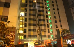 Cháy chung cư ở Linh Đàm: Có thể do sơ xuất khi thắp hương